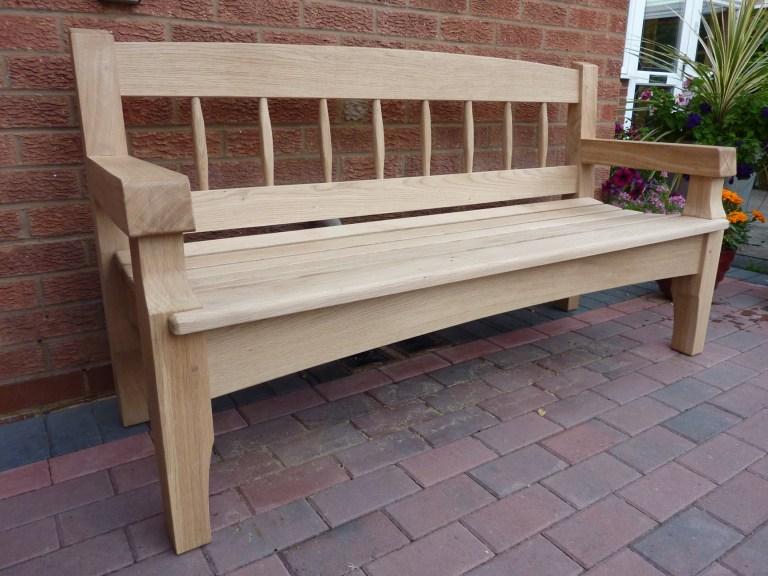 Garden Bench by Paul Rowell