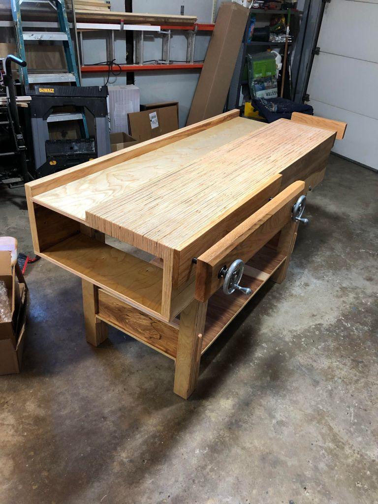 Plywood Workbench by Justin Schafer