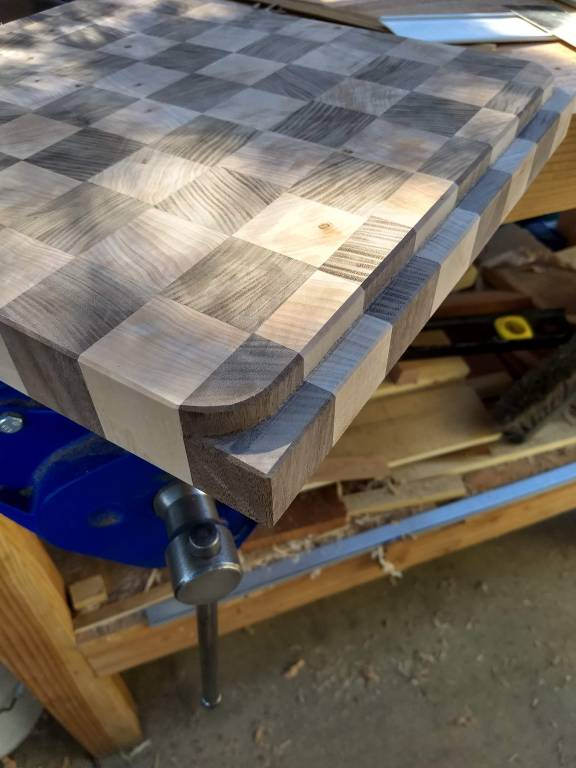 End Grain Cutting Board by Matt Newnham
