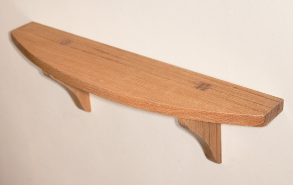 Small Curved Shelf by fasaxc
