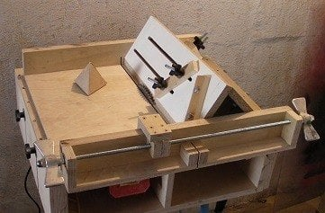 Table Saw Sled For Bevel Cuts