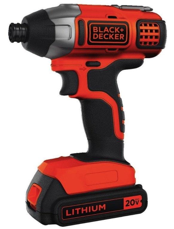 Black & Decker BDCI20C 20V Lithium Impact Driver