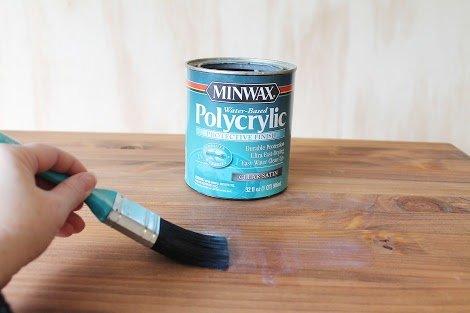 Minwax Polycrylic Satin