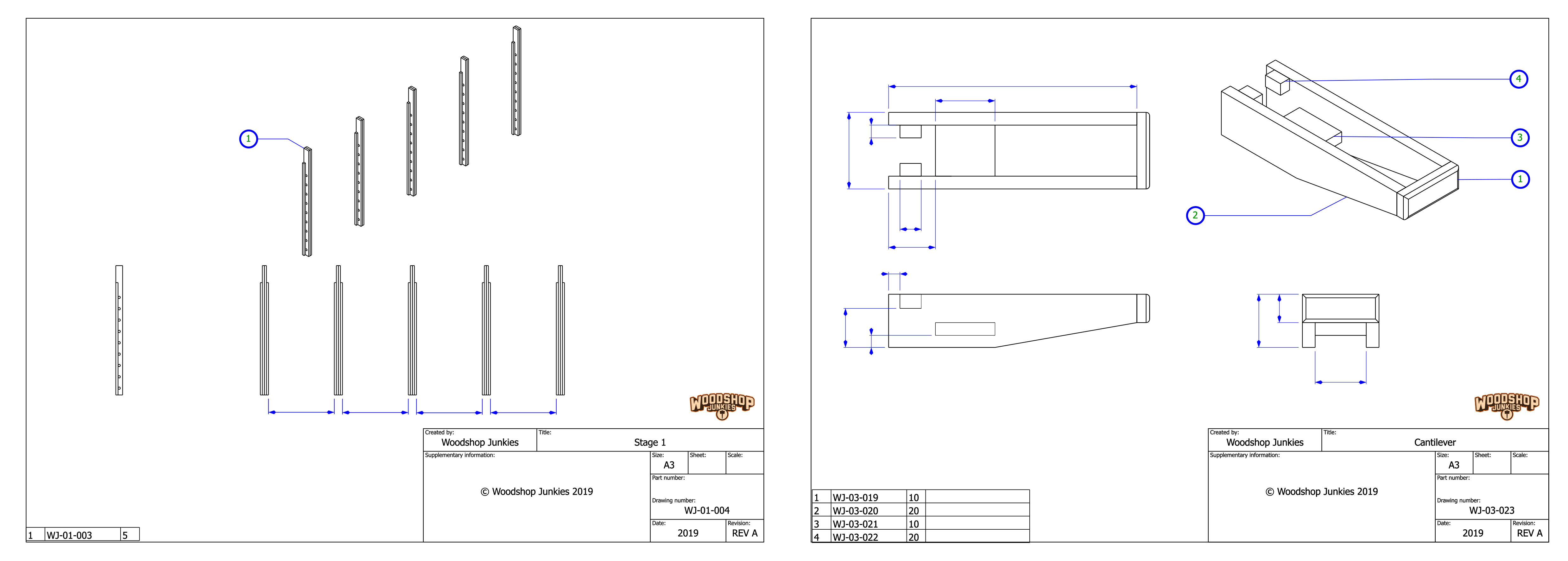 Adjustable Lumber Storage Rack For Small Workshops