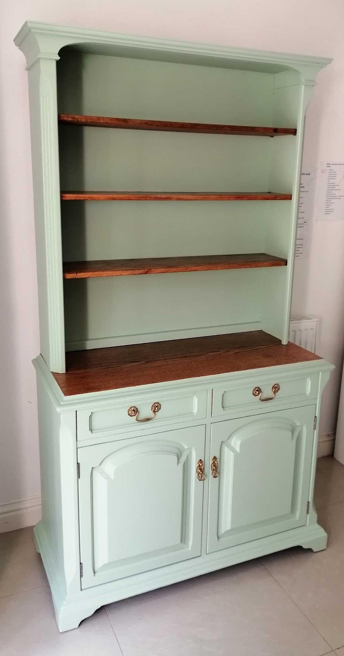 Welsh dresser completed
