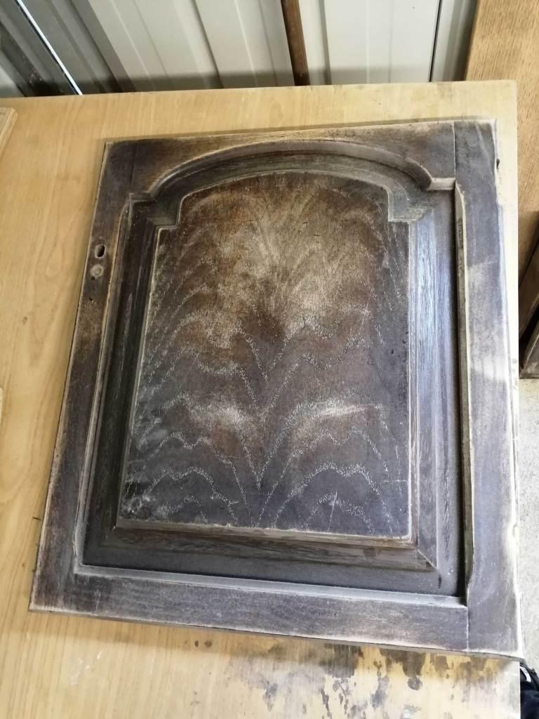 welsh dresser door sanded