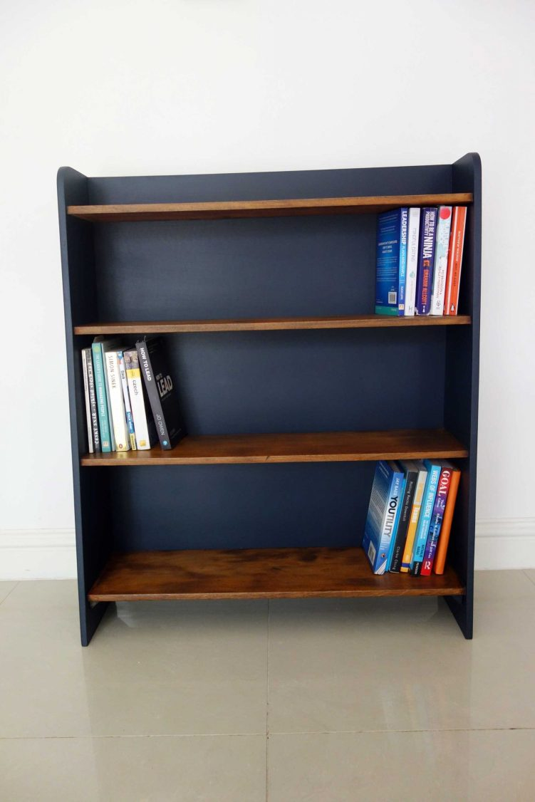 Upcycled bookcase