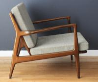 Refurbishing Danish Modern Selig Chairs + Ottoman ...