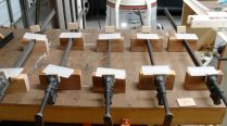 Clamps and cauls ready