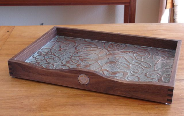cigar tray complete ready