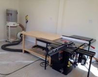 Tablesaw and out feed/assembly table