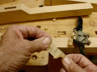 Spokeshave on flats