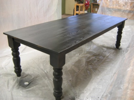 Can You Stain Oak Table Black Brokeasshome Com