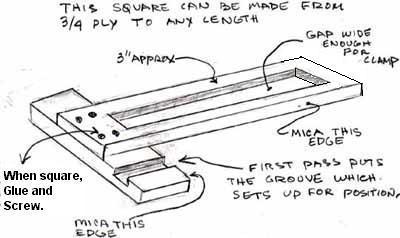 Jim: Adjustable dado jig woodworking plan