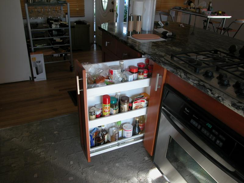 kitchen trash can pull out thai noodles woodworks unlimited - we offer a wide range of services ...