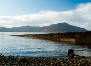 Woody Musgrove Documentary Photography Scotland Knoydart Inverie bay knoydart