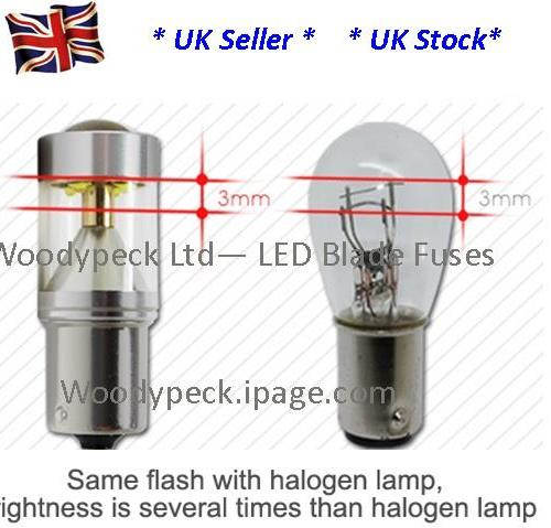 1156 P21W Side light - Stop, light bulbs