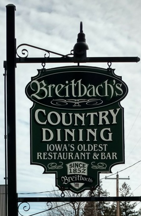 old bar sign