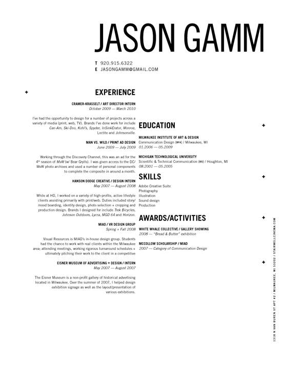 12 Résumés You Wish Were Yours Woof Magazine – Woof