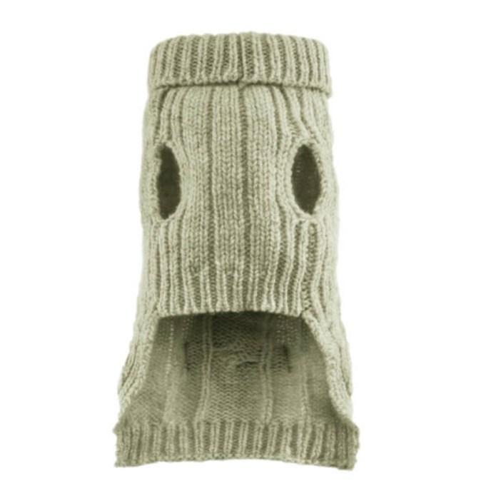 Ecru Dog Sweater Aspen