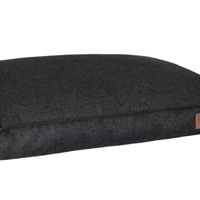 Graphite Dog Cushion Loft
