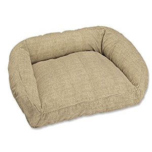 good sofa fabric for dogs bed with storage singapore the 5 best indestructible dog beds compared - ultimate ...