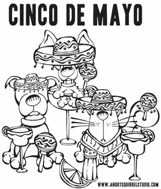 Cinco De Mayo Printable Coloring Pages