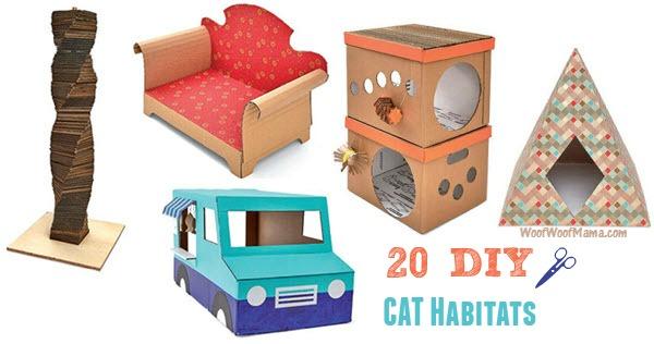 diy cat castles 20