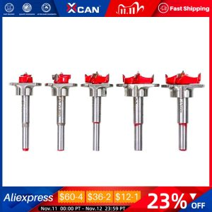 1 Set Adjustable Wood Hole Cutter 15/20/25/30/35mm Carpenter Forstner Drill Bit Set Carbide Tipped Boring Core Hole Drill