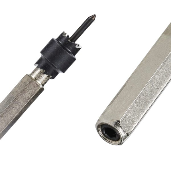 Spot Weld Drill Bit Cutter Double Side Carbide Tipped Stainless Metal Hole Drill Center Drill Bit 3/8''5/16''