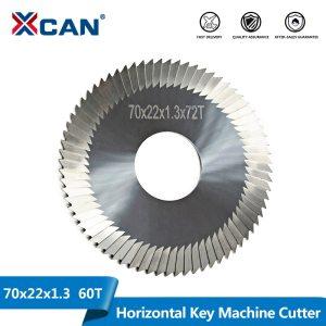 XCAN 70*22*1.3 mm carbide key cutting machine blade for key blade cutting locksmith tools professional lock picks