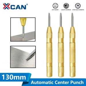 XCAN 1pc 130mm Automatic Center Pin Punch Drill Automatic Window Breaking Device Wood/Metal Hole Punch Drill Bit