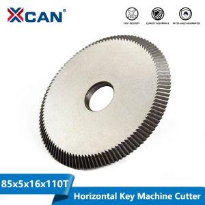 XCAN 1pc Key Cutting Machine Blade 80x5x16mm 110T Key Machine Cutter Key Machine Spare Parts Locksmith Tools Circular Saw Blade