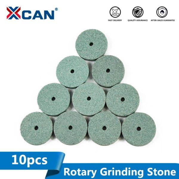 10pcs Green Aluminum Oixde Grinding stone sheet For Dremel rotary tools