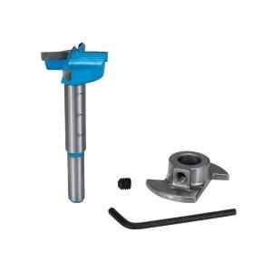 Forstner Drill Bit 15-35mm Carbide Tipped Drill Bit Set Adjustable Core Drill Boring Bit Woodworking Hole Cutter