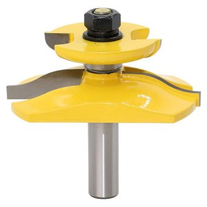 "1 pc 1/2"" Shank Raised Panel Router Bit with Backcutter - Ogee Woodworking cutter Tenon Cutter for Woodworking Tools"