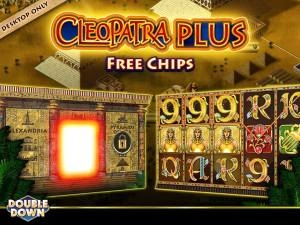 Double Down claim 250,000 Cleopatra FREE chips