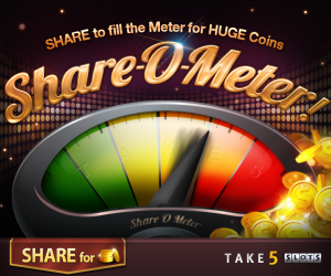 Take 5 Free Slot Claim Your Sher Fun CoINS
