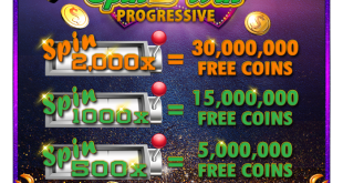 Jackpot Party Casino collect Free Coins