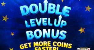 house of fun double level up bonus