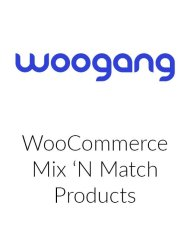 WooCommerce Mix and Match Products