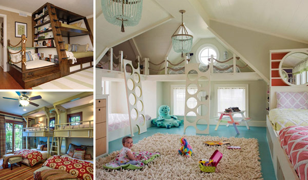 21 Most Amazing Design Ideas For Four Kids Room  Amazing