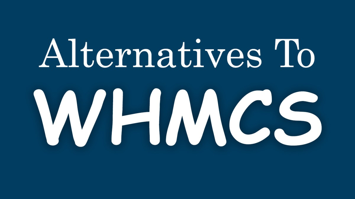Alternatives to WHMCS