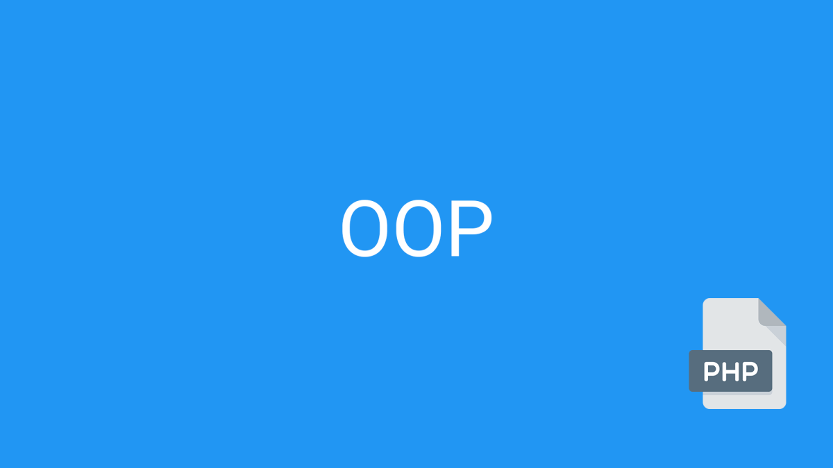 PHP Tutorial: OOP