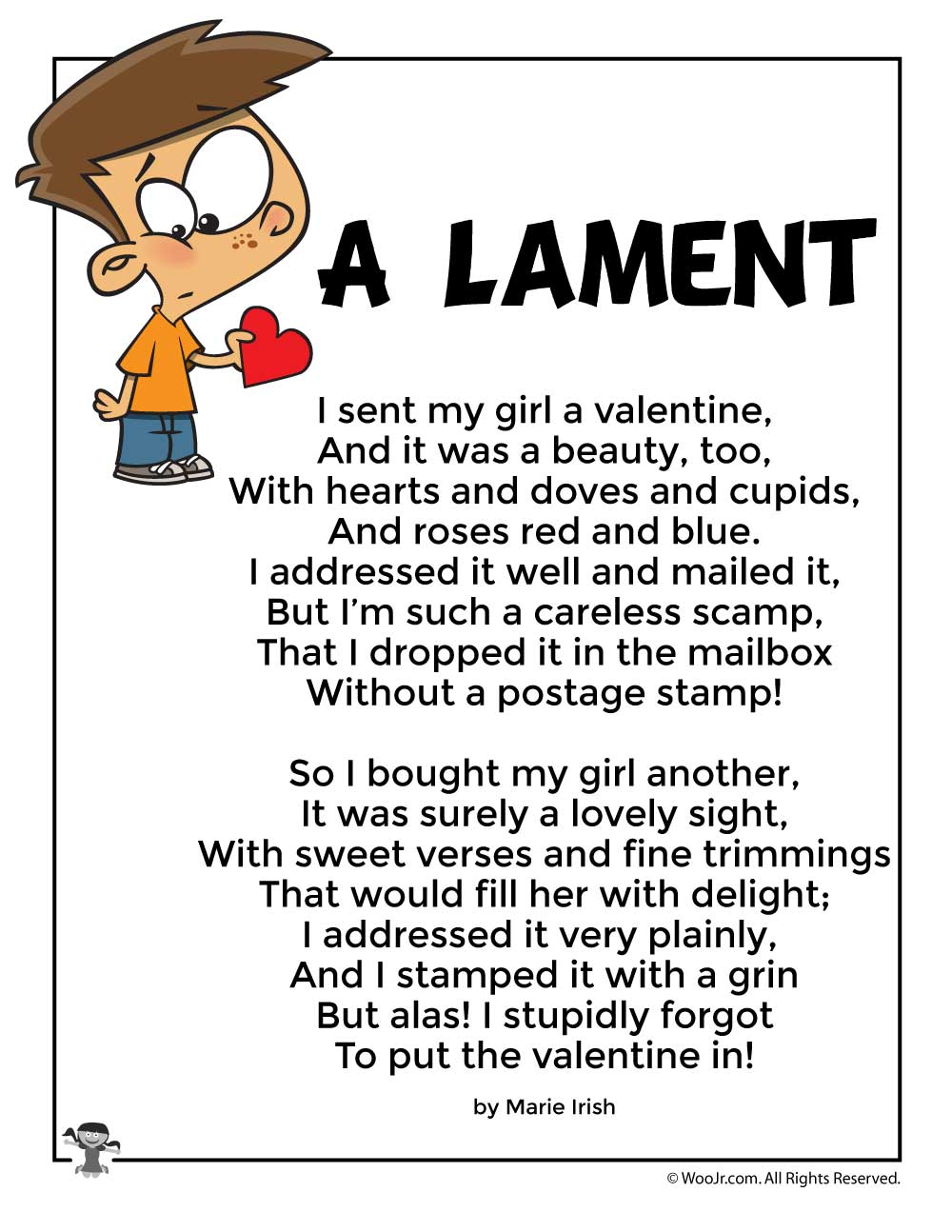 Funny Valentines Day Poems For Coworkers : funny, valentines, poems, coworkers, Lament, Funny, Valentine's, Activities