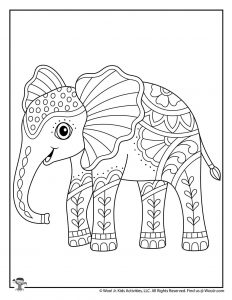 Animal Coloring Pages Easy : animal, coloring, pages, Animal, Coloring, Pages, Adults, Teens, Activities