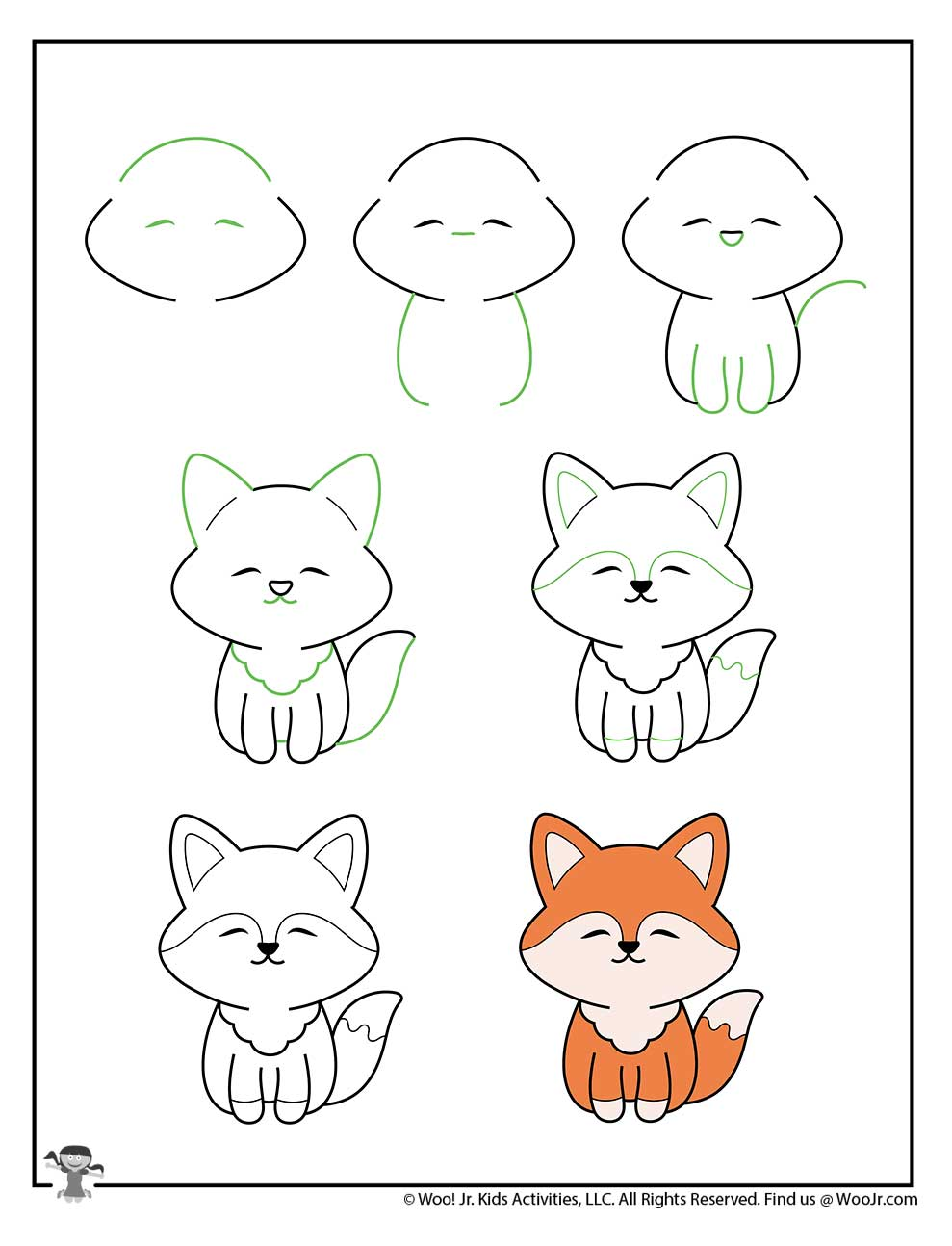 Cute Animal Pictures To Draw : animal, pictures, Animals, Activities