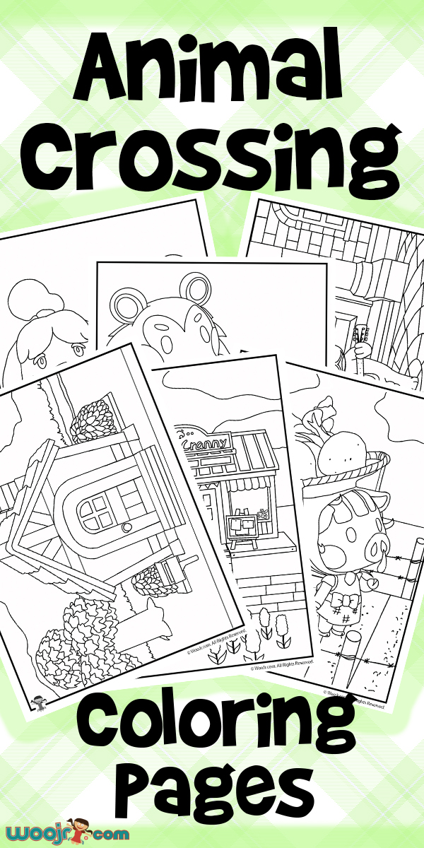 Animal Crossing Coloring Pages | Animal Coloring