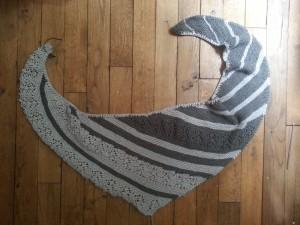 Nurmilintu shawl