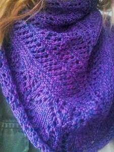 Glam Shell shawl - small-15